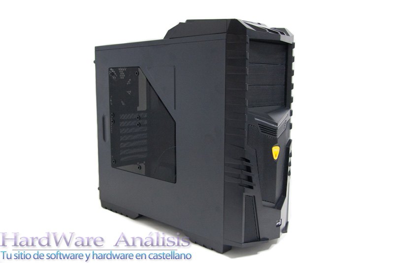 Caja AeroCool X-Warrior Black Edition