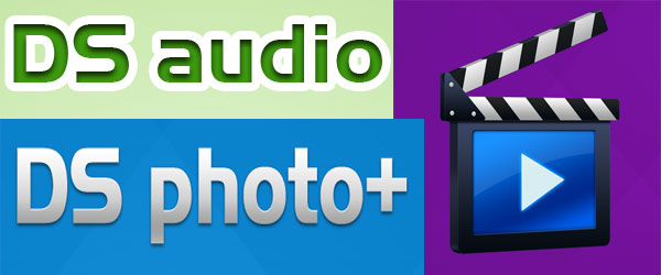 Apps Synology: DS audio, DS photo+ y DS video